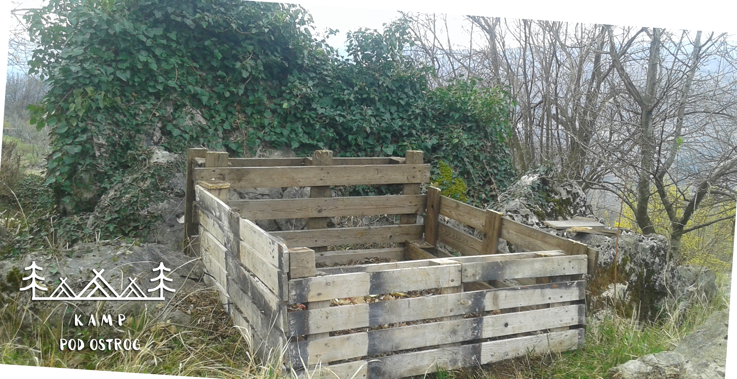 Komposter od paleta